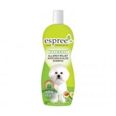 Espree Allergy Relief Avocado & Aloe Dog Shampoo - шампунь для чувствительной кожи с маслом авокадо и алое вера