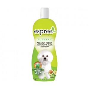 Espree Allergy Relief Avocado and Aloe Dog Shampoo - шампунь для чувствительной кожи с маслом авокадо и алое вера