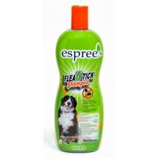 Espree Flea And Tick Oat Shampoo - репеллентный шампунь для собак и кошек возрастом от 3 мес.