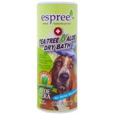 Espree Tea Tree & Aloe Dry Bath - сухой шампунь с алоэ вера