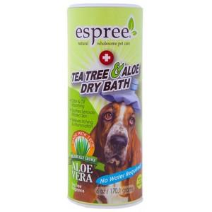 Espree Tea Tree and Aloe Dry Bath - сухой шампунь с алоэ вера