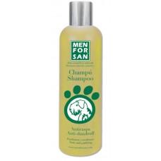 MENFORSAN Anti-Dandruff Shampoo - натуральный шампунь для собак против перхоти с лимоном
