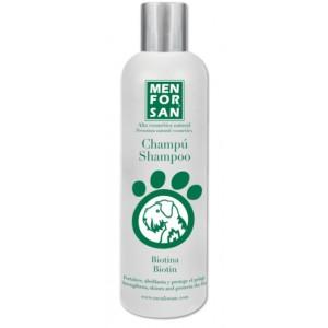 MENFORSAN Biotin Shampoo - Натуральный восстанавливающий шампунь для собак с биотином