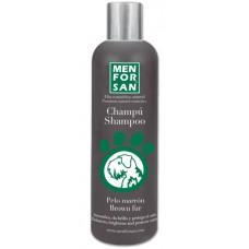 MENFORSAN Brown Fur Shampoo - оттеночный шампунь коричневого цвета для собак
