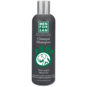 MENFORSAN Black Fur Shampoo - оттеночный шампунь черного цвета для собак