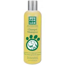 MENFORSAN Shampoo With Wheat Germ for Puppies - сверхмягкий шампунь с экстрактом ростков пшеницы для щенков