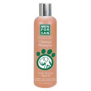 MENFORSAN Mink Oil Shampoo - шампунь с норковым маслом для собак с сухой или жесткой шерстью