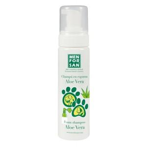 MENFORSAN Foam Shampoo With Aloe Vera for Dogs and Cats - пенный шампунь с алое вера для собак и кошек