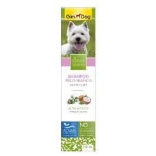 GimDog Natural Solutions White Coat Shampoo - шампунь для собак с белой шерстью