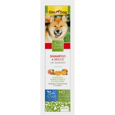 GimDog Natural Solutions Dry Shampoo - сухой шампунь для щенков и собак