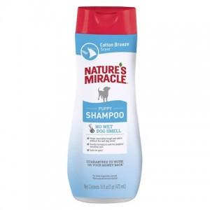 Шампунь для щенков «Natures Miracle Puppy Shampoo» - содержание Алоэ Вера успокаивает и увлажняет кожу   читать далее