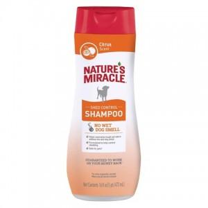 Шампунь для контроля при линьке собак «Natures Miracle Shed Control Shampoo» - содержание Алоэ Вера успокаивает и увлажняет кожу | читать далее