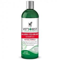 Vets Best Allergy Itch Relief Shampoo - шампунь для собак при аллергии