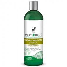 Vets Best Oatmeal Medicated Shampoo - шампунь от перхоти, шелушения