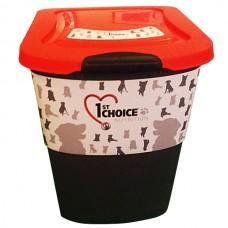 1st Choice - фирменный контейнер для хранения корма, пластик, 15 кг