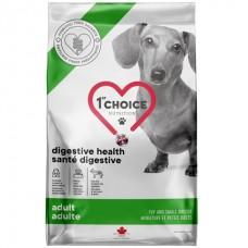 1st Choice Adult Digestive Health Toy&Small - сухой диетический корм для собак мини и малых пород с чувствительным пищеварением