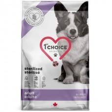 1st Choice Adult Sterilized - сухой диетический корм для стерилизованных собак
