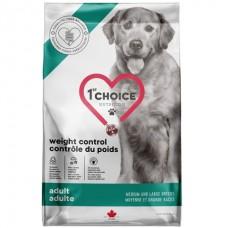 1st Choice Adult Weight Control Medium&Large - сухой диетический корм для собак средних и крупных пород с избыточным весом