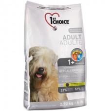 1st Choice Hypoallergenic Adult - гипоаллергенный сухой корм для собак с уткой и картошкой