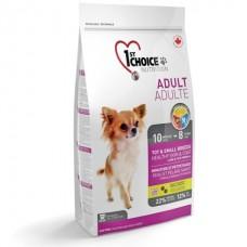 1st Choice «Фест Чойс» Toy & Small Adult Lamb & Fish - корм для собак малых пород с ягнёнком, рыбой и рисом