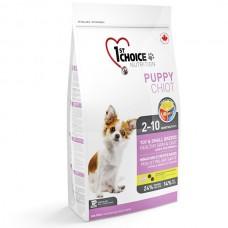 1st Choice «Фест Чойс» Puppy Chiot Toy & Small Breeds ▪ Корм для щенков малых пород с ягнёнком, рыбой и рисом