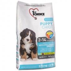 1st Choice Medium & Large Puppy Chicken - корм для щенков средних и крупных пород