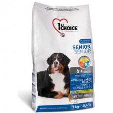 1st Choice Senior Medium Large Breeds - корм для пожилых или малоактивных собак средних и крупных пород