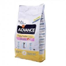 Advance Puppy Sensitive - корм для щенков всех пород с чувствительным пищеварением / с лососем и рисом
