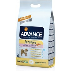 Advance «Эдванс» Dog Sensetive - с лососем для чувствительного желудка собак