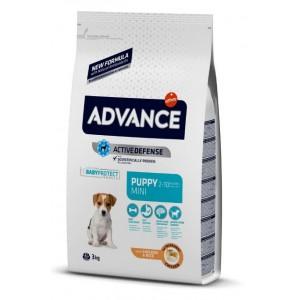 Advance Dog Mini Puppy для щенков маленьких пород / с курицей и рисом