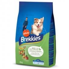 Brekkies Dog Chicken and Cereals - корм для собак курица с рисом