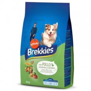 Brekkies «Бреккис» Dog Chicken and Cereals - корм для собак курица с рисом