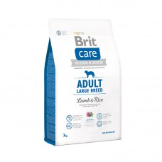 Brit Care Adult LARGE Breed сухой корм для крупных пород собак (ягнёнок/рис)