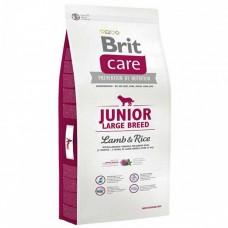 Brit Care Junior Large Breed Lamb & Rice корм для щенков крупных пород с Ягненком и рисом