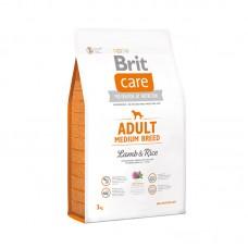 Brit Care Adult Medium Breed Lamb & Rice для взрослых собак средних пород  (ягненок/рис)