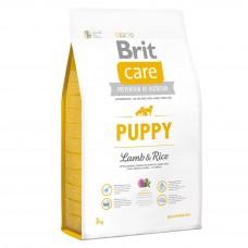 Brit Care Puppy Lamb & Rice -для щенков всех пород (гипоаллергенный )