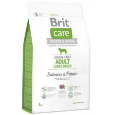 Brit Care Grain Free Salmon & Potato Adult Large Breed - беззерновой корм для взрослых собак крупных пород, / Лосось-картофель