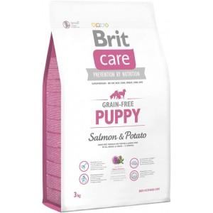 Brit Care «Grain-free Puppy Salmon and Potato» для щенков и молодых собак всех пород /с лососем и картофелем/