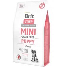 Brit Care Grain Free Mini Puppy Lamb - корм беззерновой для щенков малых пород / ягненок