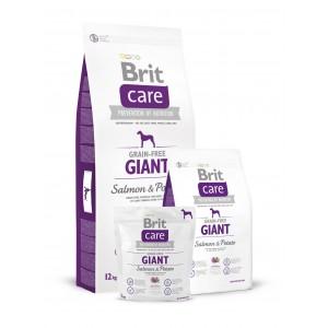 Brit Care Grain-free Giant Salmon - с лососем для взрослых собак гигантских пород
