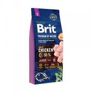 Brit Premium Junior S корм для щенков и молодых собак мелких пород