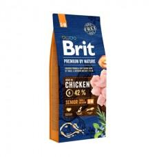 Brit Premium Senior «S+M» - для стареющих собак малых и средних пород