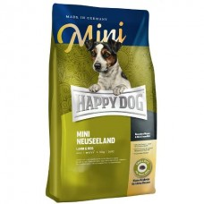 Happy Dog Supreme Mini Neuseeland - для собак мелких пород, склонных к пищевым аллергиям / Ягненок + рис