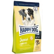 Happy Dog Supreme Junior Lamb & Rice - корм для щенков всех пород / с ягненком и рисом