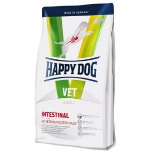 Диета при острых и хронических желудочно-кишечных расстройств у собак Happy Dog Vet Diet Intestinal | Petplus