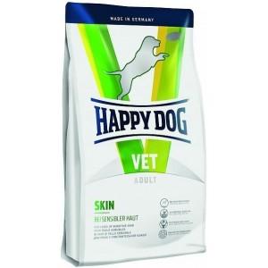 Сухой корм при заболеваниях кожи у собак: «Happy Dog Vet Diet Skin» белок из оленя, рисовый протеин, лосось | Регенерация при раздражении кожи: Хеппи Дог Вет | Petplus