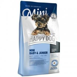 Happy Dog Supreme MINI BABY and JUNIOR ★ полноценный корм для щенков и юниоров мелких пород