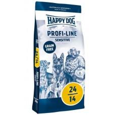 Happy Dog Profi-Line Grain Free Sensitive - корм беззерновой для взрослых собак с чувствительным пищеварением