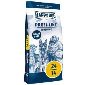 Беззерновой корм для собак с чувствительным пищеварением Happy Dog Profi-Line Sensitive