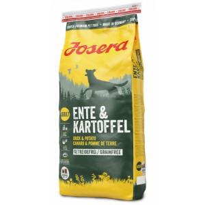 Ищете гипоаллергенный корм для собак c чувствительным пищеварением? В нашем зоомагазине «Petplus» вы можете купить еду для собак «Josera Ente & Kartoffel» | Собаки - Йозера Энте & Картофель: без зерновых культур | страна-производитель: Германия